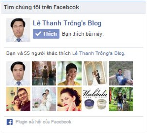 FanPage Lê Thanh Trông