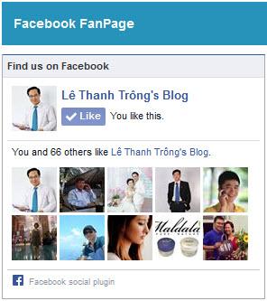 Facebook Fanpage Lê Thanh Trông's Blog