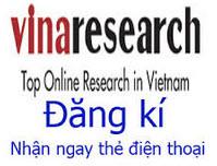 Khảo sát online Vinaresearch